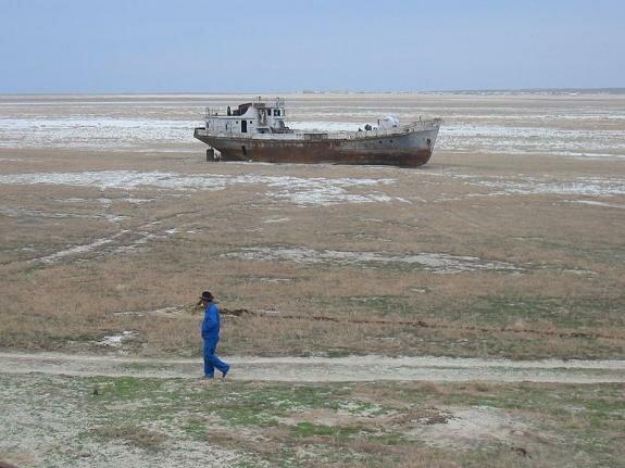 Аральское море сегодня, 2015 год
