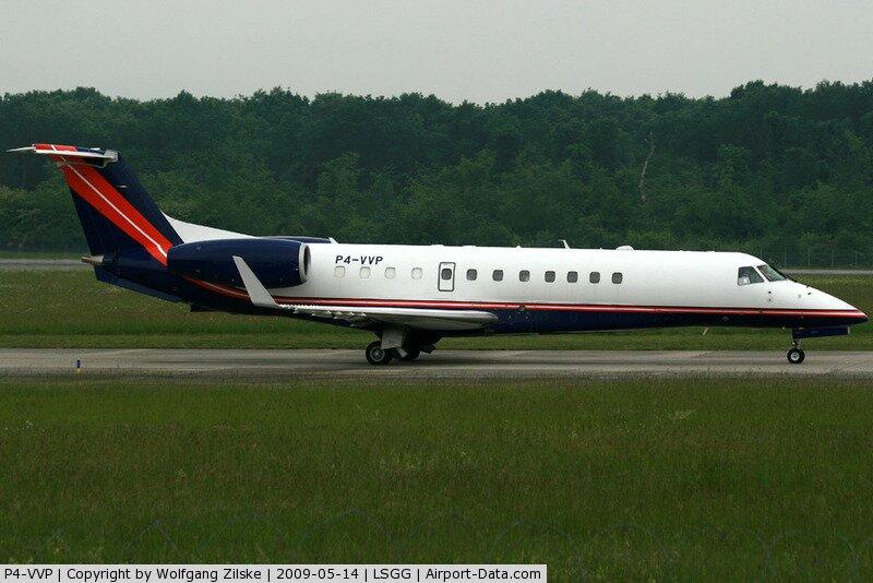 """Президентский VIP-лайнер Embraer EMB-135BJ, регистрационный номер """"P4-VVP"""""""