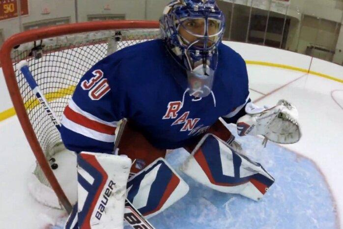 Один из лучших вратарей НХЛ Хенрик Лундквист