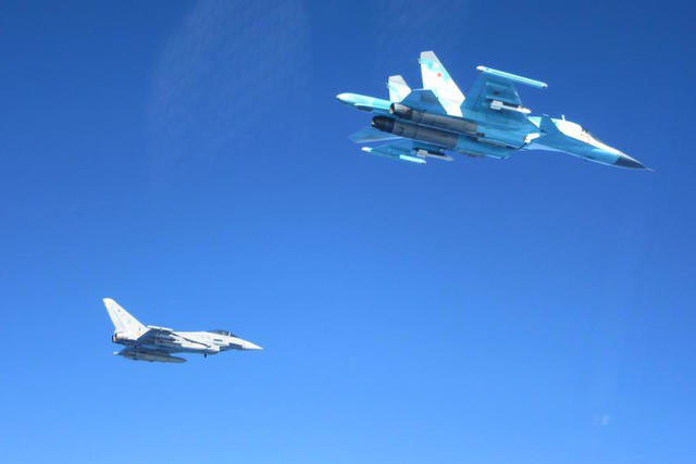 Авиация России на Балтикой
