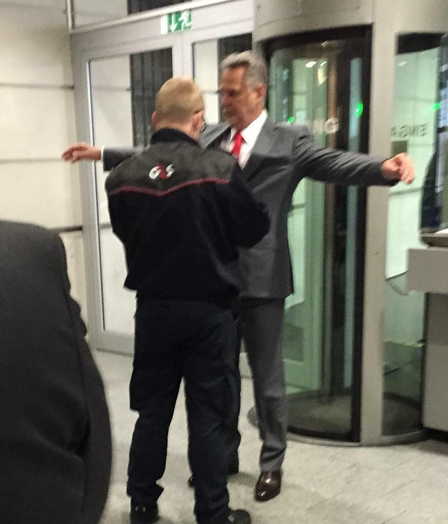 Фото: Дмитрий Фирташ прибыл в суд