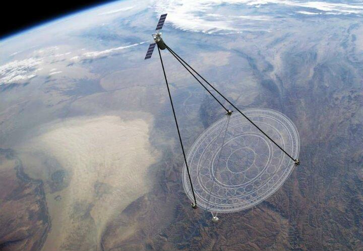 Фото американских спутников шпионов