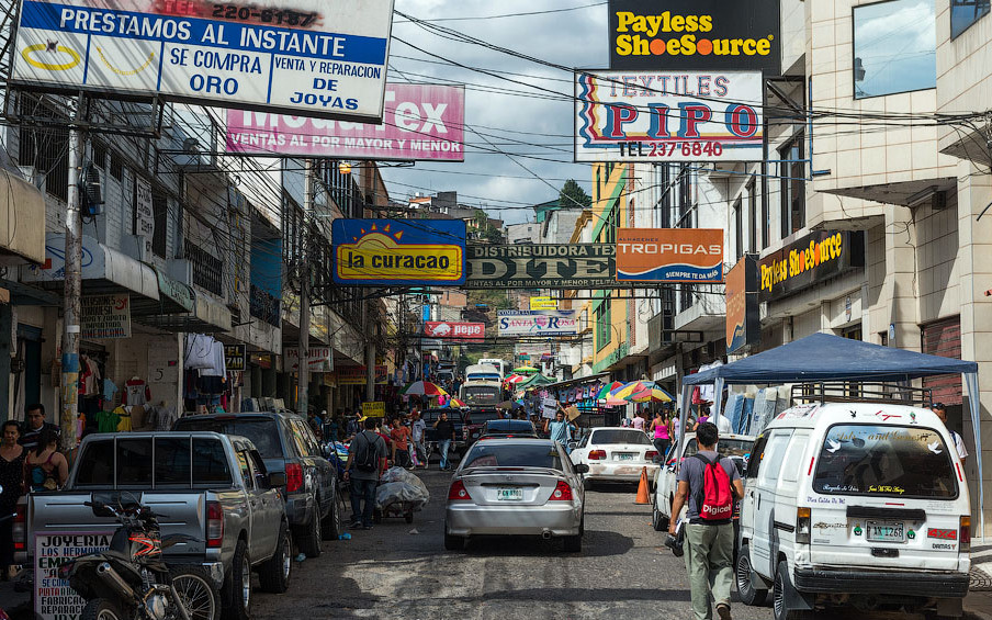 Столица Гондураса - Тегусигальпа