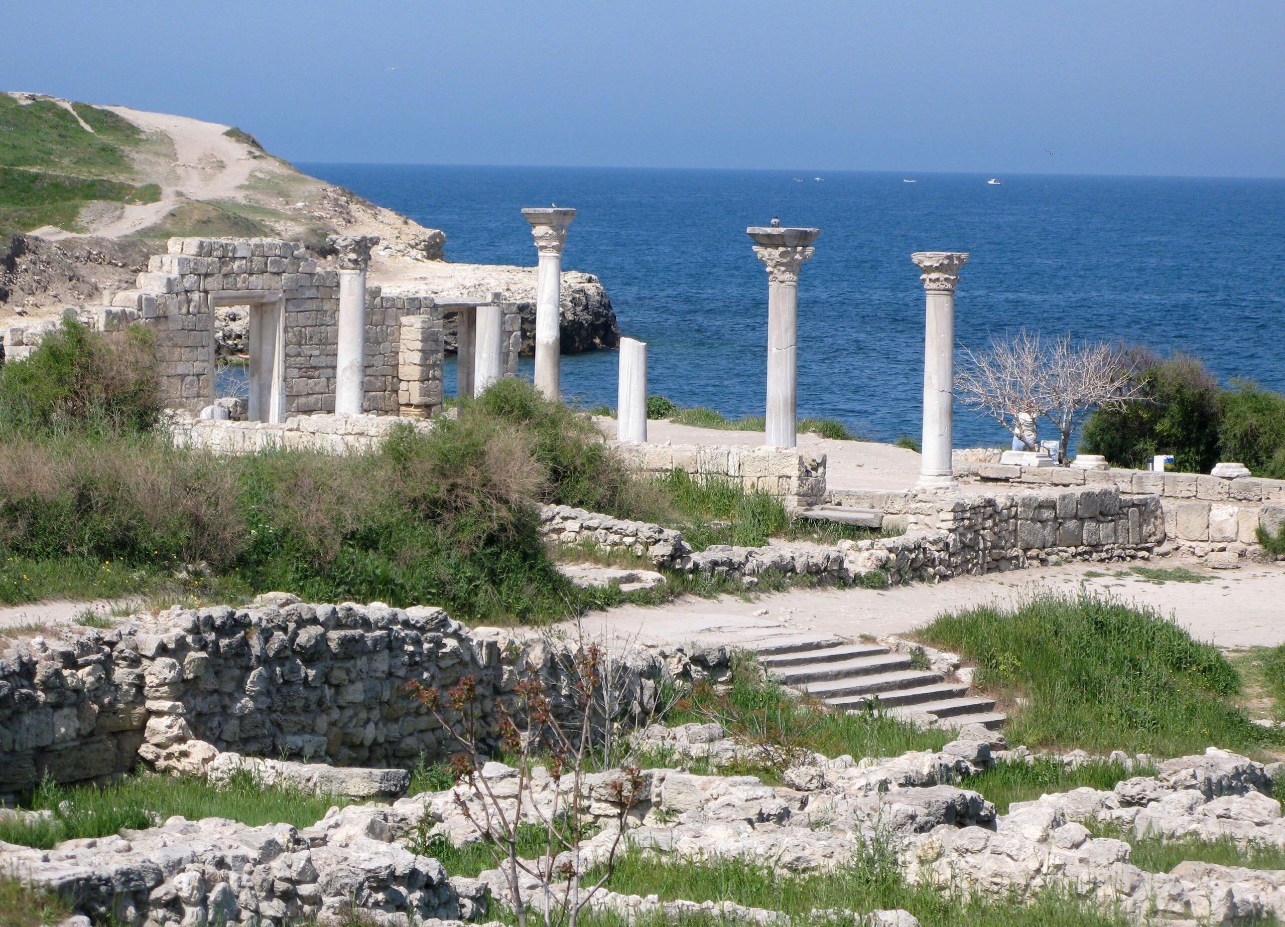 Севастополь. Территория древнего Херсонеса