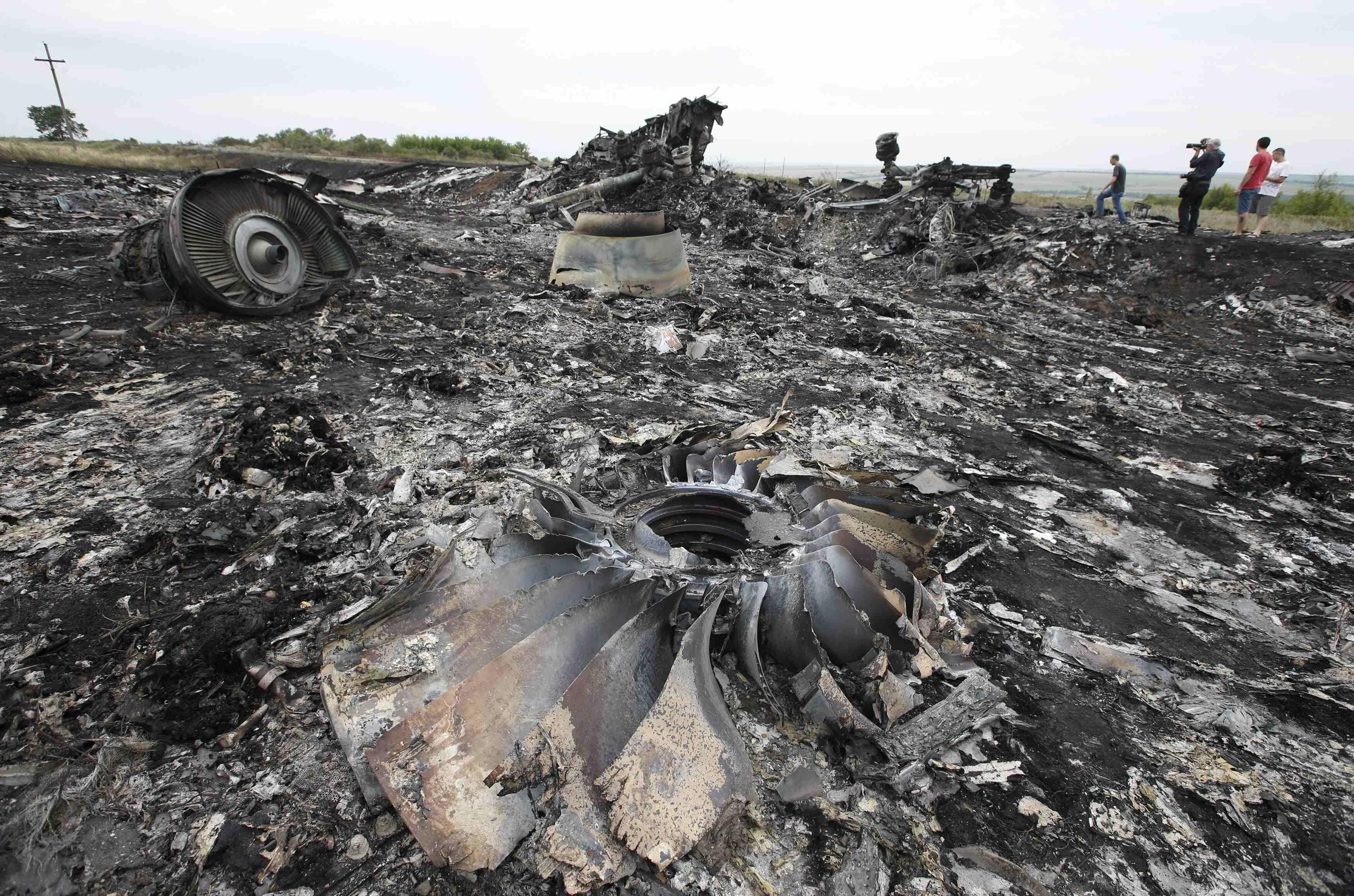 Последствия крушения рейса MH17  Boeing 777