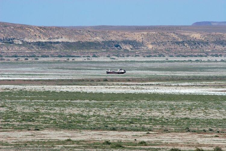 На дне Аральского моря