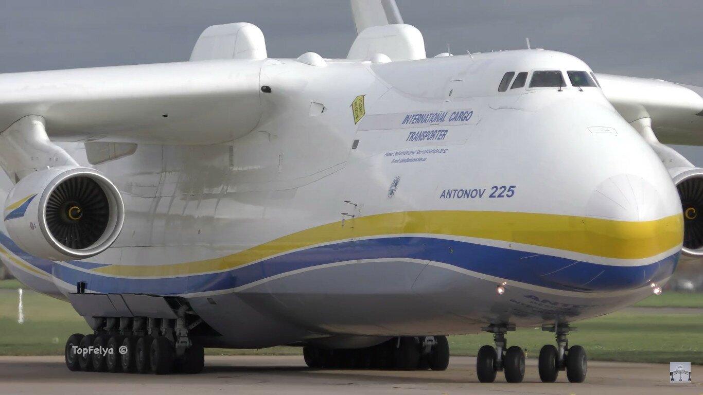 """Самый большой в мире самолет АН-225 """"Мрия"""", фото 11.11.2015г., Великобритания"""