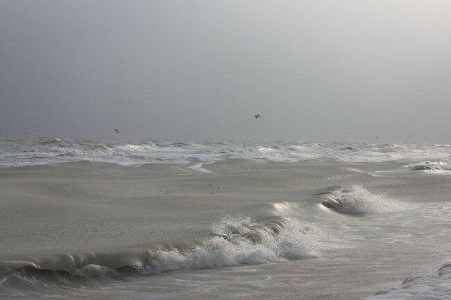Азовское море замерзает - фото Татьяна Кравченко