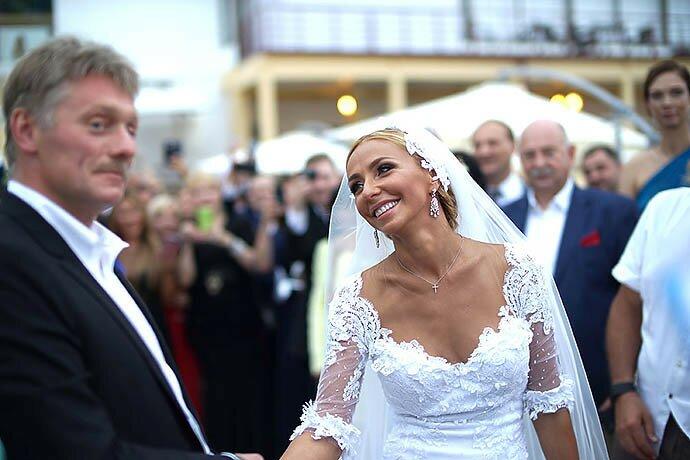Фото: свадьба Навки и Пескова, 2015г