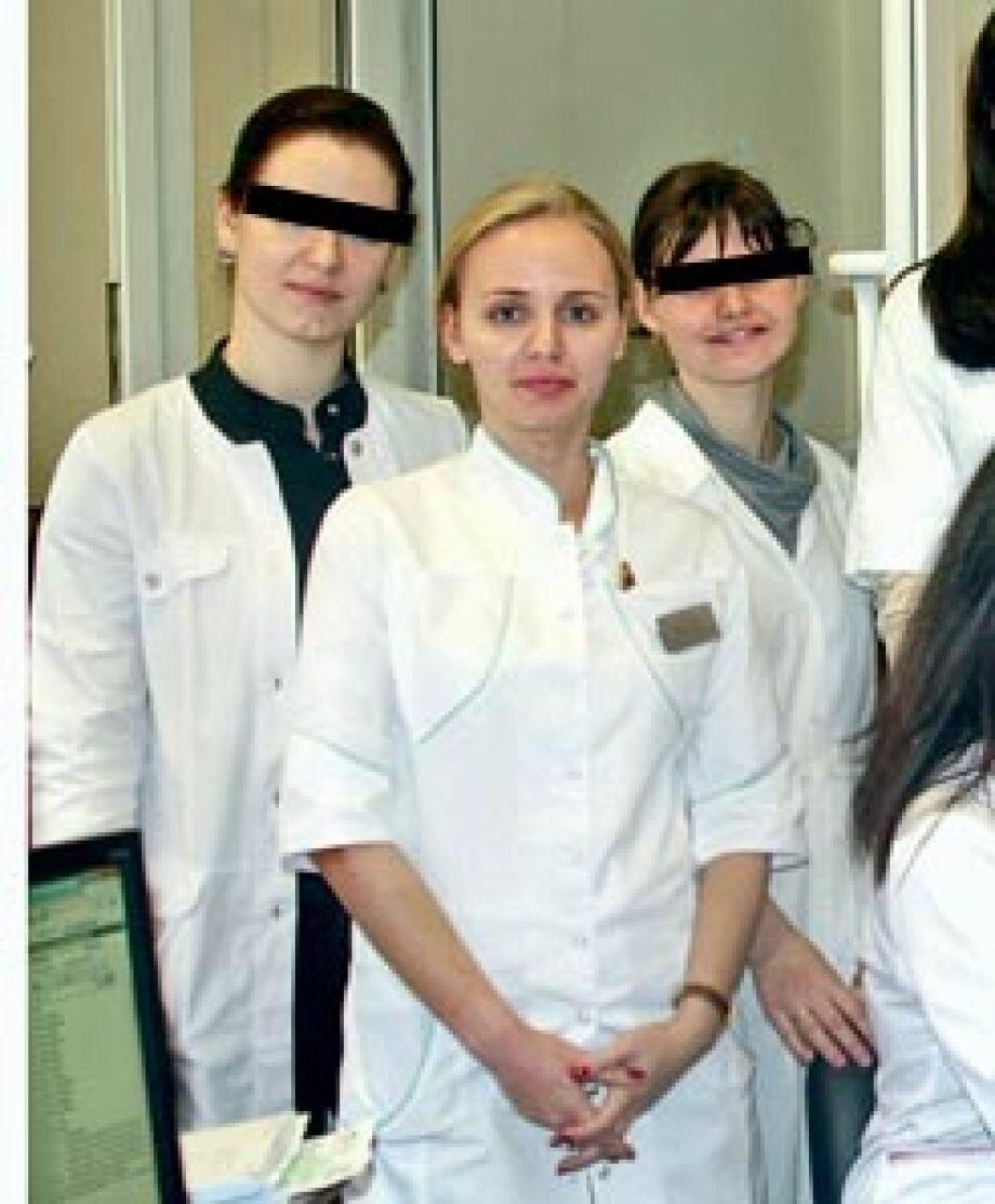 Мария Путина - аспирантка Эндокринологического научного центра, Москва, фото 2011 года