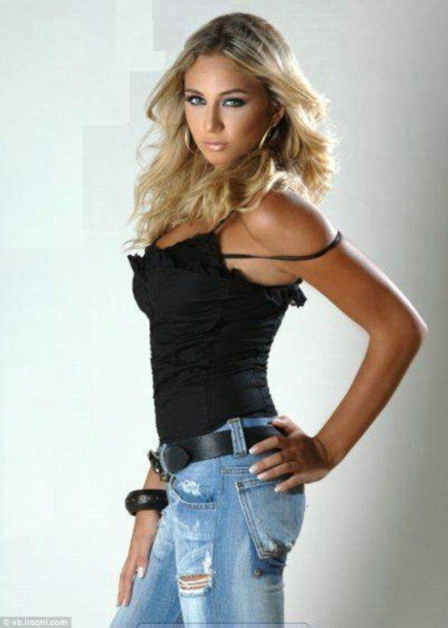 25-летняя ливанскую модель Луян Адада