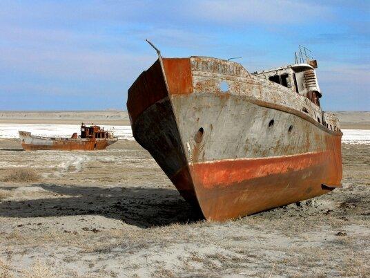 Аральское море сегодня, фото 2016г.