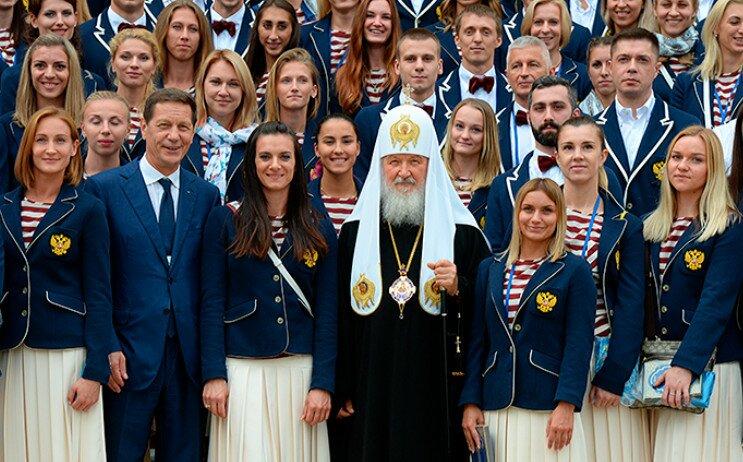 Форма олимпийцев России