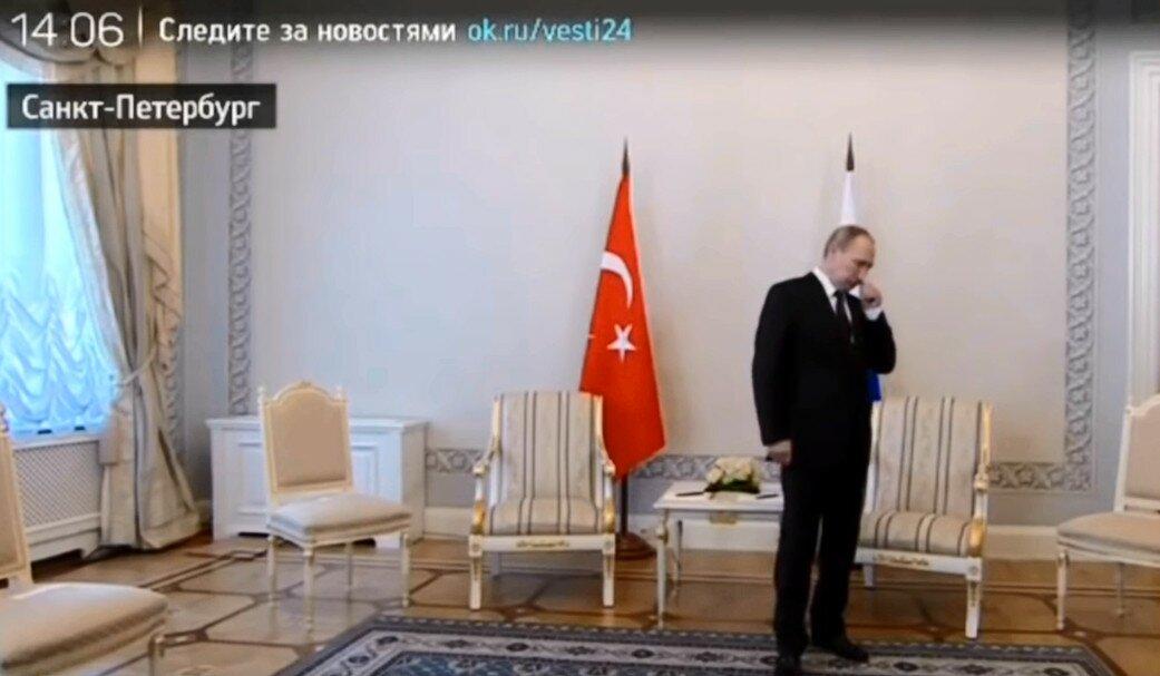 Эрдоган опоздал к Путину (видео 9 августа 2016г.)