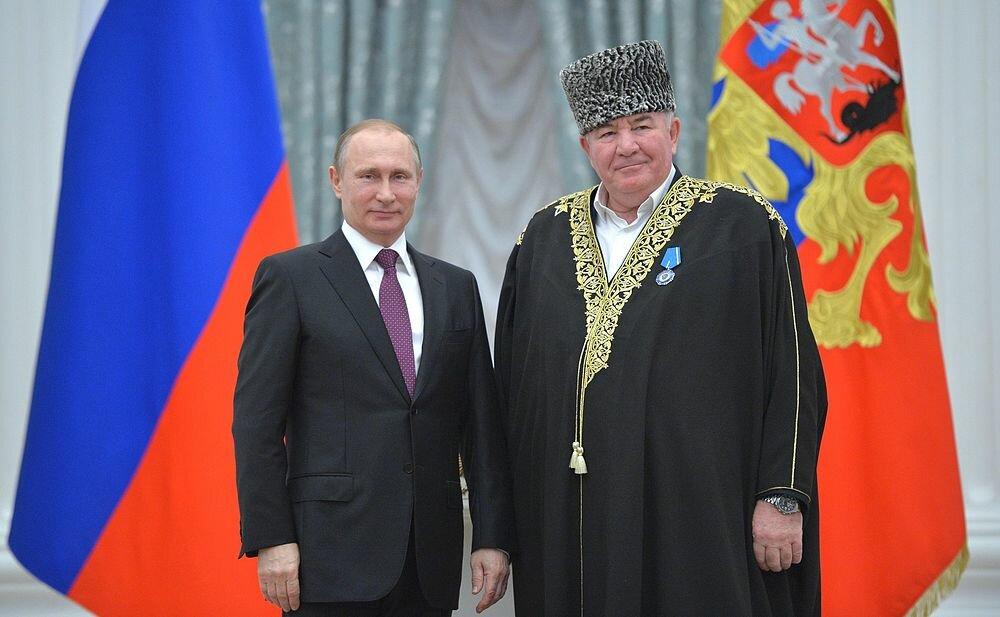 Владимир Путин и Исмаил Бердиев