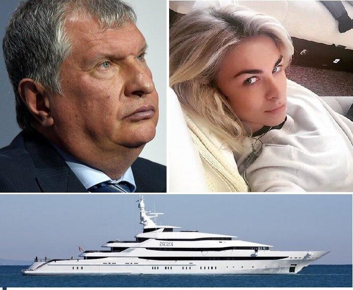 """Яхта Сечина """"Принцесса Ольга"""""""