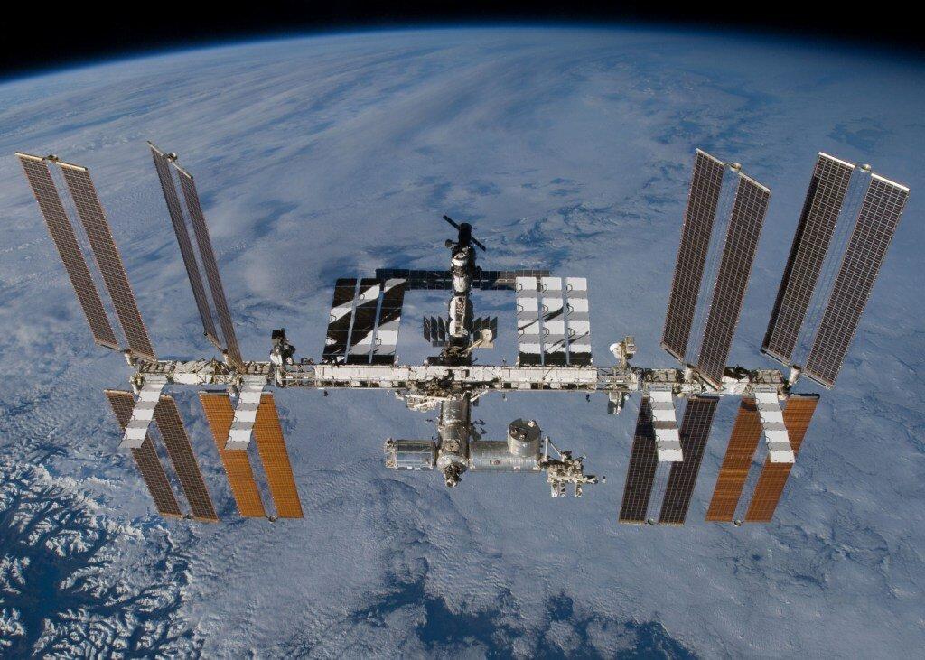 На МКС установлены камеры с онлайн трансляцией в реальном времени