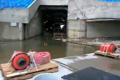 Стадион Зенит-Арена тонет