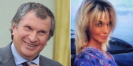 Ольга Сечина жена Игоря Сечина