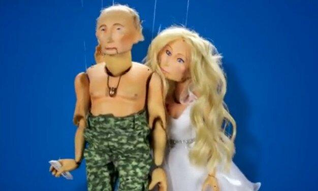 Видео с дочерью Путина - рекламный ролик из Израиля