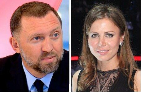 Миллиардер Олег Дерипаска и его супруга Полина