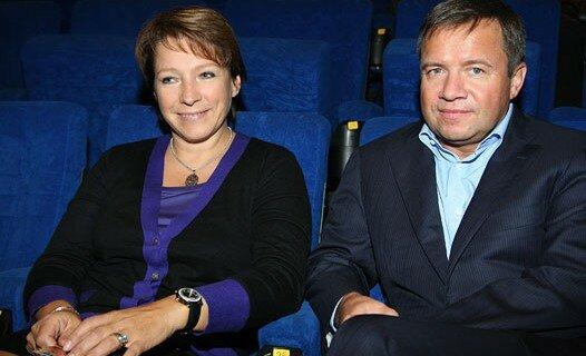Дочь Ельцина Татьяна Юмашева и ее муж Валентин Юмашев