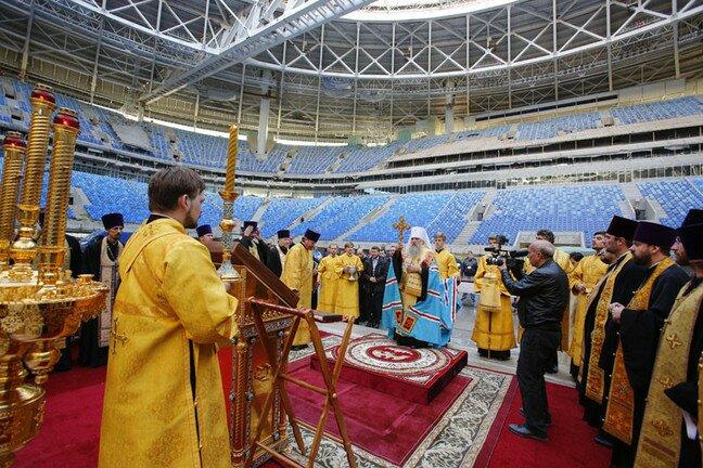 Стадион Зенит-Арены, последние новости строительства