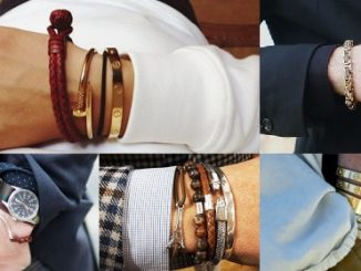 Мужские наручные браслеты