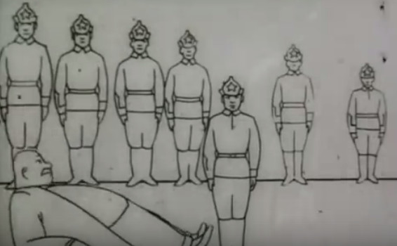 """Первый советский мультфильм """"Советские игрушки"""", 1924г."""