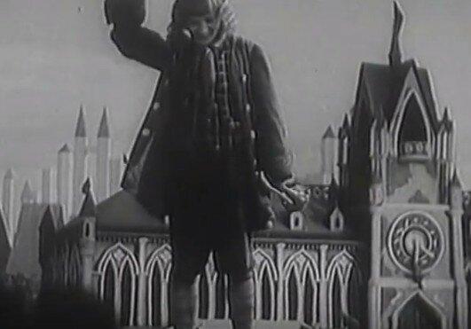 """Мультфильм """"Новый Гулливер"""", СССР, 1935г."""