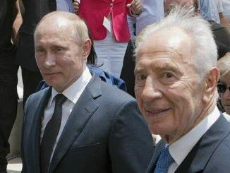 Что сказал Шимон Перес Путину ?