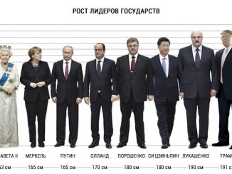 Рост Владимира Путина