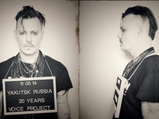 Джонни Депп в роли заключенного