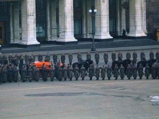 Похороны Сталина, видео