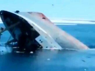 судно Лиман затонуло