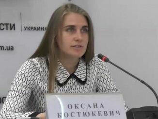 Оксана Костюкевич